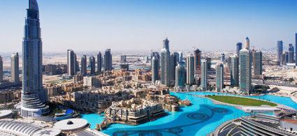 Fuentes danzantes de Dubái